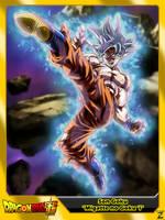 (Dragon Ball Super) Son Goku 'Mastered MNG' by el-maky-z