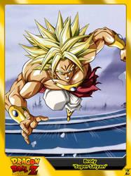 (Dragon Ball Z) Broly 'Super Saiyan' by el-maky-z