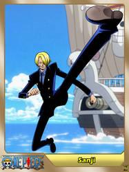 (One Piece) Vinsmoke Sanji by el-maky-z