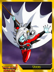 (Dragon Ball Heroes) Towa by el-maky-z