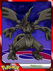 (Pokemon) #644 Zekrom by el-maky-z