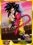 (Dragon Ball GT) Son Goku 'Super Saiyan 4' by el-maky-z