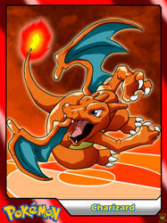 (Pokemon) #006 Charizard by el-maky-z