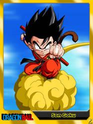 (Dragon Ball) Son Goku V2 by el-maky-z