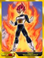 (Dragon Ball Super) Vegeta 'Super Saiyan God' by el-maky-z
