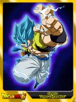 (Dragon Ball Super) Gogeta 'Super Saiyan Blue' by el-maky-z