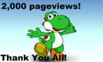 2,000 Page Views! by ToadBirgade64