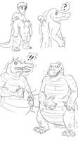 alligaturr costume by Fighting-Wolf-Fist