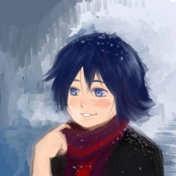 First Snow by DoodleRush