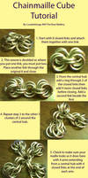 Chainmaille Cube Tutorial by lunabellvarga