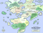 The Only Fantasy World Map... by EotBeholder