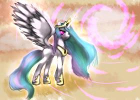 Princess Celestia by Nalenthi