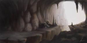 Cave by miriamrez