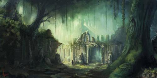 Ruins by miriamrez