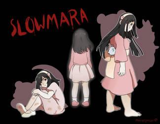 TFS - Slowmara Gijinka by MarvelPoison
