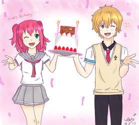 [DA] Happy Birthday To My Friend! by DisappointmentRao