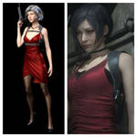 Ada Wong Resident Evil 2 Remake Comparison by CaptainFist123