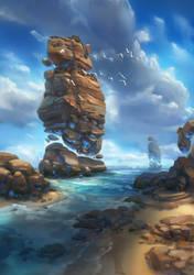 Shoreline by Paperheadman