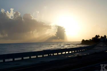Sunrise at Margara, Arecibo,PR by kruz-fuzion