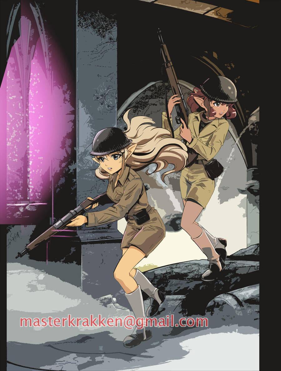Elf Soldiers by deviantmanga