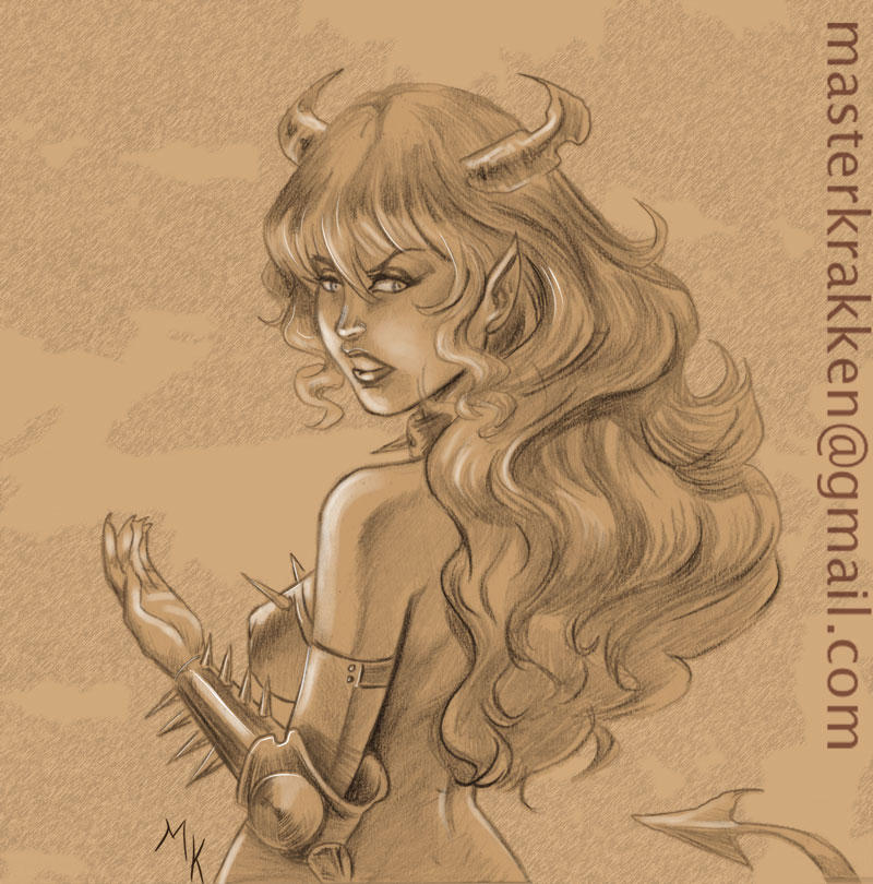 SHE-DEVIL by deviantmanga