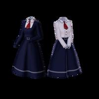 School Uniform Download [MMD]- Minor Update 1 by HyouryuuNa