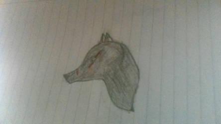 Black Wolf (Thats Me!) by GureOkamiFang