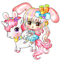 I Love My Unicorn by KawaiiiJackiiie