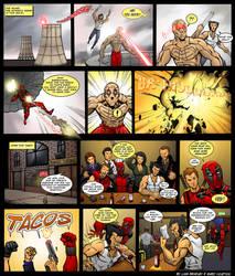 X-Men Origins: Deadpool by ScarletVulture