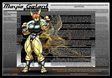 Mystic League DU: Mayia Galant by DocWolph