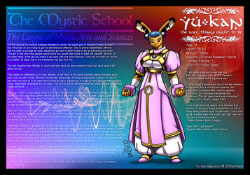 Mystic League DU: Yu-Kan by DocWolph