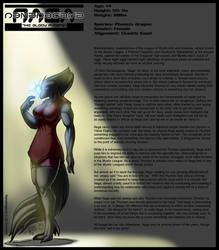 Mystic League: Naga by DocWolph