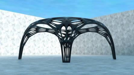 Blender3d - Hoop Arch 001 by DocWolph