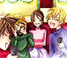 Digimon: Holiday Season by silent-requiem