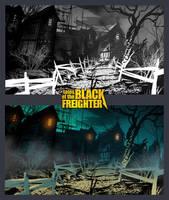 WATCHMEN: Black Freighter by feerikart