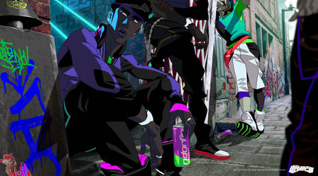 Neo Blasterz Pack chillin' by feerikart