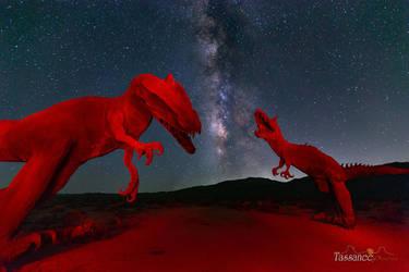 Jurassic Galaxy by tassanee