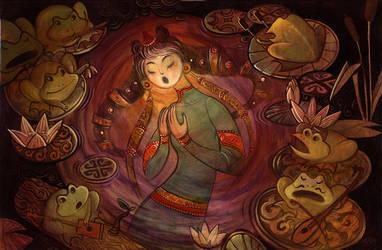 Moon song by greenpengua