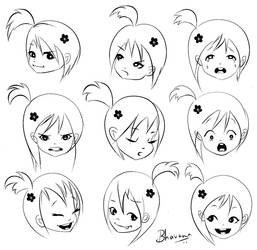 expressions by bhav12