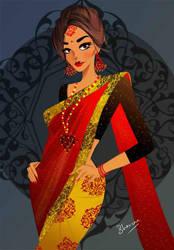 Saree by bhav12