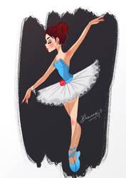 Ballerina by bhav12