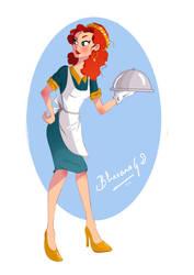 waitress! by bhav12