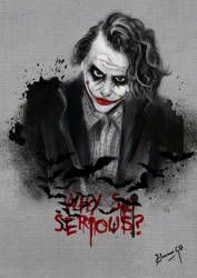 Why So Serious? by bhav12