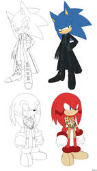 Request: Sonic and Knuckles by Tataina8