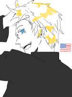 America Tegaki by OCibiSuke