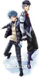 TM:: With Haruka by OCibiSuke