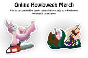 Half off Stickers - Support Howl by HowloweenCanada