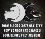 Howl Room Block Closing! by HowloweenCanada