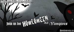 Howloween 2018: Vampires by HowloweenCanada