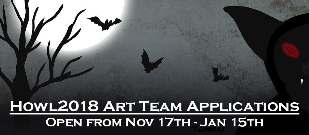 Howloween 2018 - Art Team Applications OPEN by HowloweenCanada